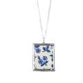 Blue Vintage China Pendant