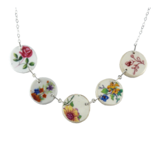 Five Disk Necklace