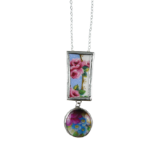 Rose Drop Pendant