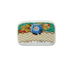 Floral Rectangle Brooch